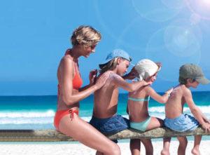 Защита детей от солнца